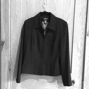 Black jacket, Worthington Works business wear